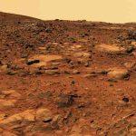 Wird so die Welt am Ende der Zeit aussehen, wenn selbst der Ganges und die Meere ausgetrocknet sind? Bild: NASA (es handelt sich um eine Aufnahme von der Oberfläche des Mars).