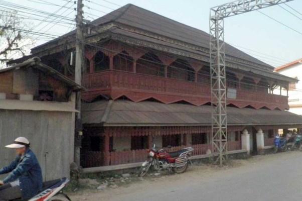 U Mao's (Phaya Sekòng's) residential building in Mueang Sing in 2019. Photo: Volker Grabowsky