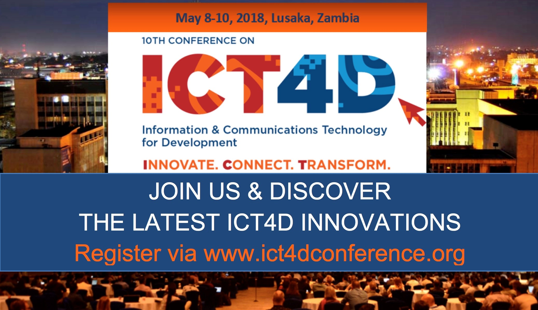 WHY ATTEND THE ICT4D CONFERENCE?