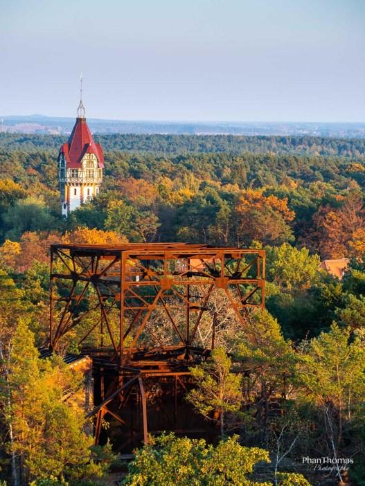 Baumkronenpfad: Wasserturm