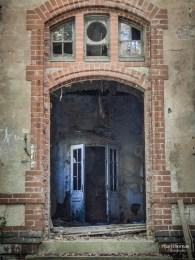 Beelitz-Heilstätten: Geistertür?