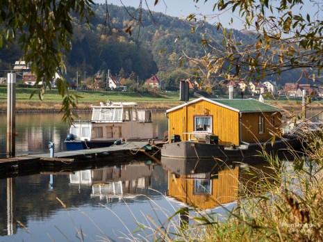 Bad Schandau: Wandern am Fluss