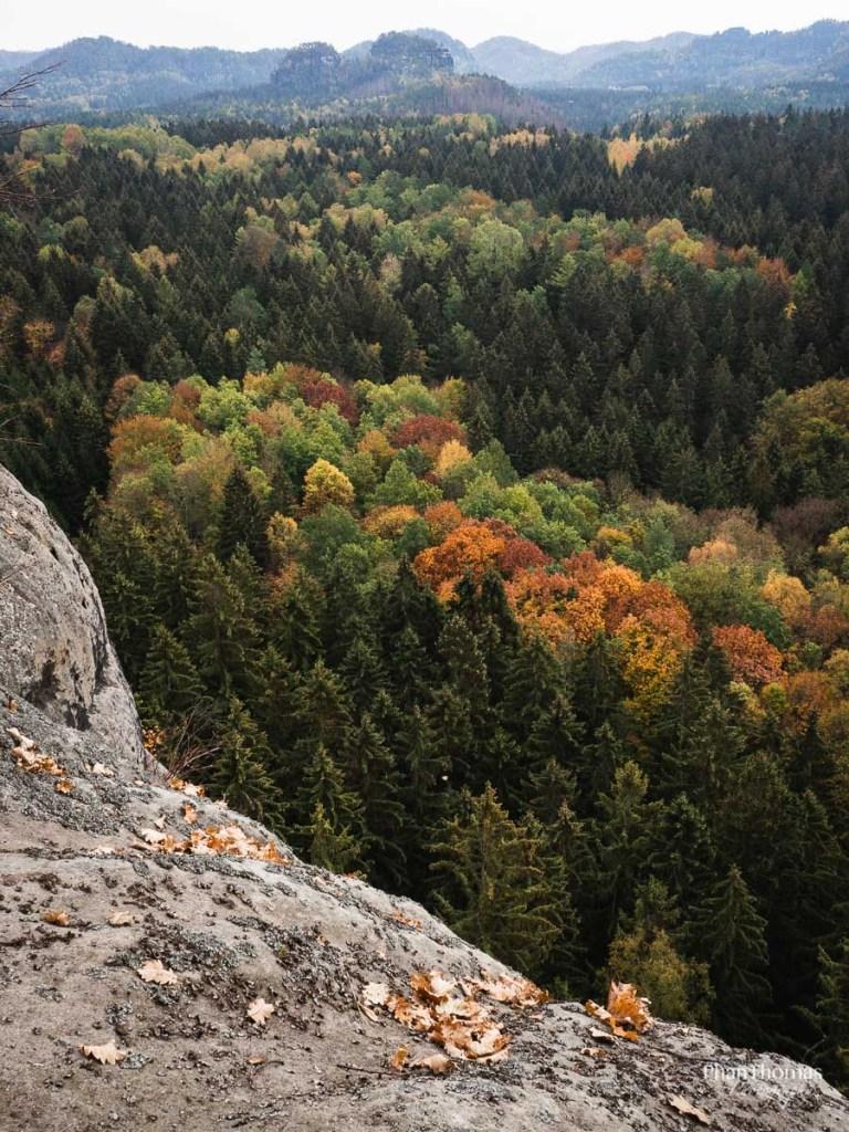 Lichtenhainer Wasserfall: Herbstlandschaft 3