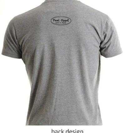 hood gray shirt back