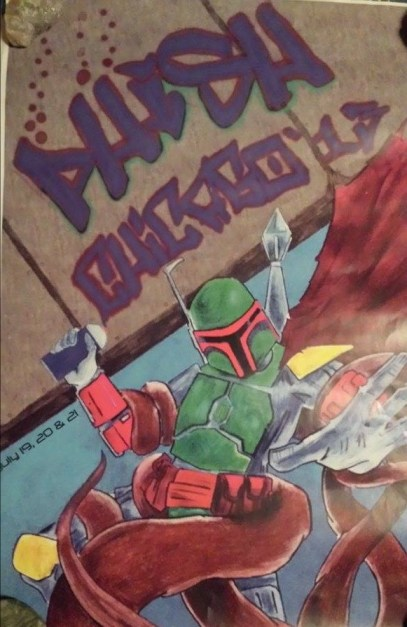 Definitely NOT on the Best of List, but hey, Boba Fett!