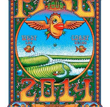 Oh, Don't You Fall Tour!?! New Phish Print from Tim Ripley