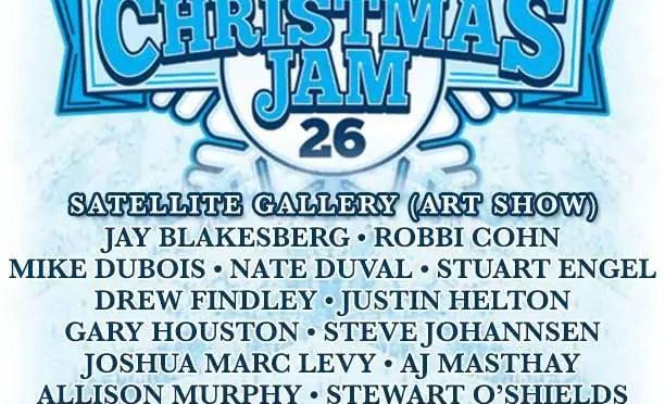 Christmas Jam Art Show at The Satellite Gallery in Asheville Opens December 12