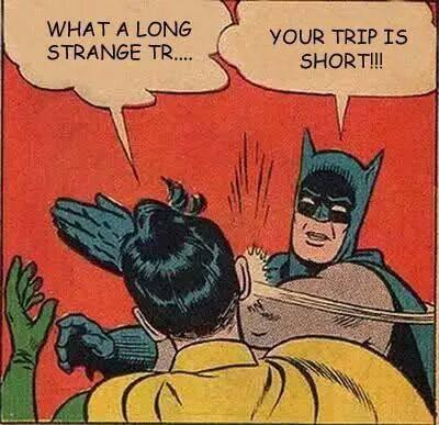 your trip is batman