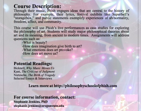 Announcing Collaboration with Philosophy School of Phish