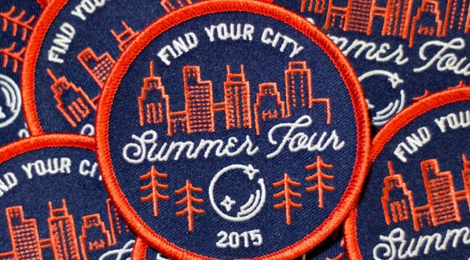 Find Your City Patches and Stickers