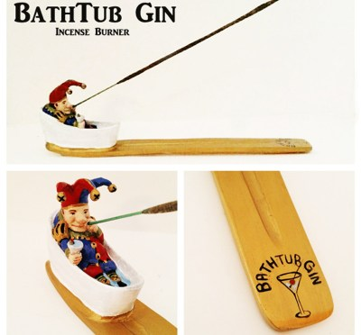 Bathtub GINcense Burner