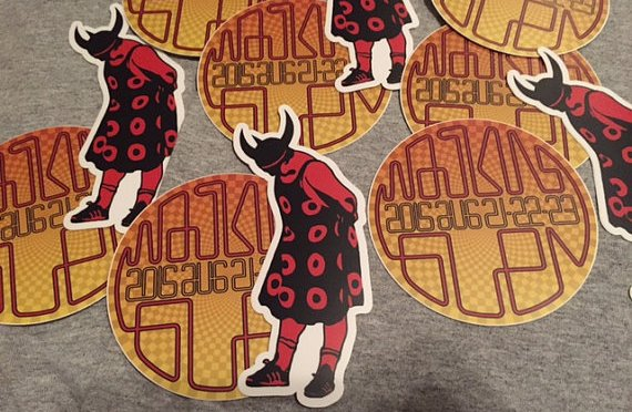 Watkins Glen Viking Shirts and Stickers
