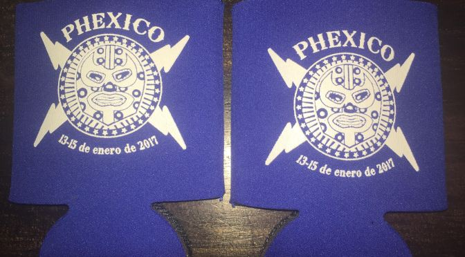 Phexico Koozies by Phiesta Time Designs