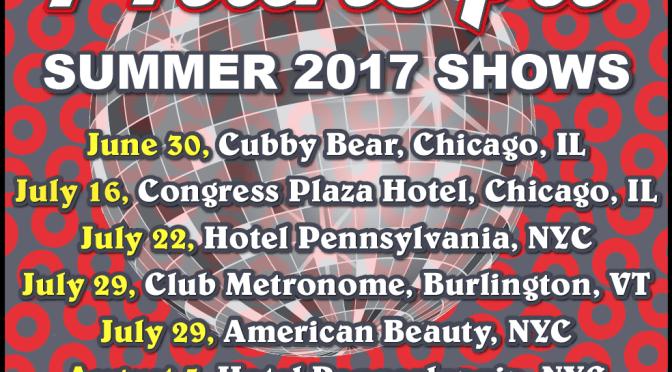 Announcing 6 PhanArt Shows for Summer 2017!