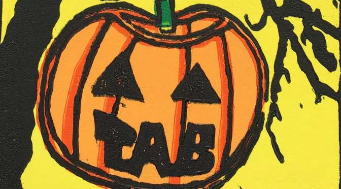 TAB Halloween 2017 Print from Alex Greene