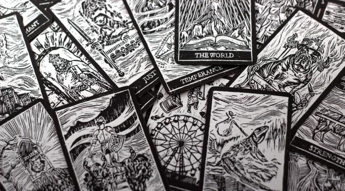 Gamehenge Inspired Tarot Cards From Augury Press