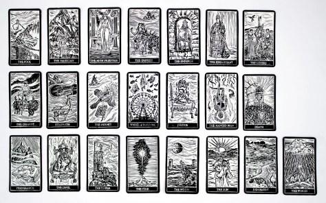 Gamehenge Inspired Tarot Cards From Augury Press   PhanArt : Music