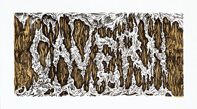 New Cavern Print from Augury Press
