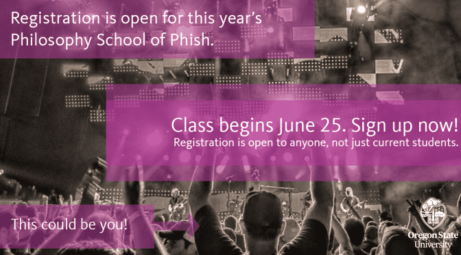 Philosophy School of Phish Returns this summer with a Field Trip to the Gorge and MORE!
