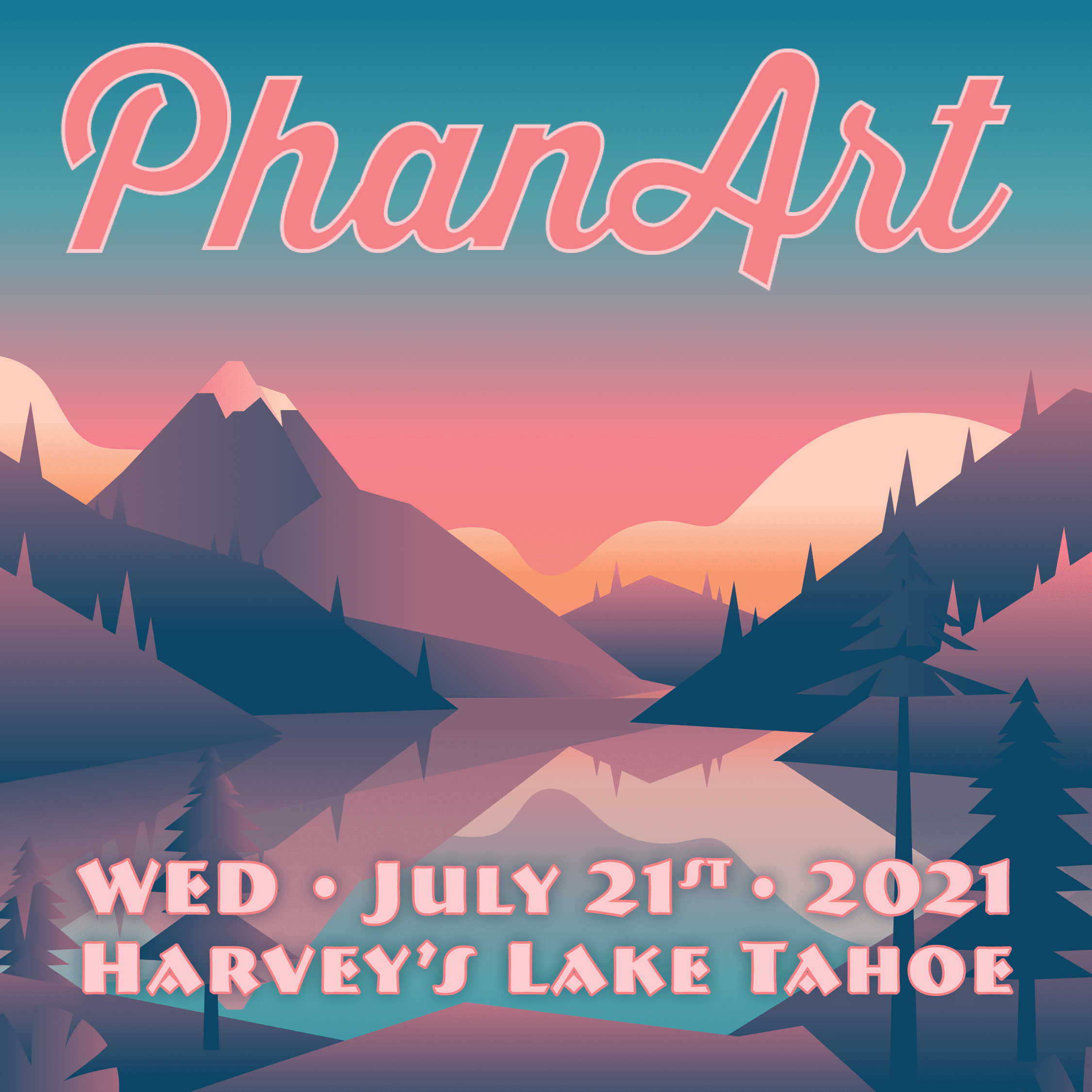 PhanArt Lake Tahoe 2021