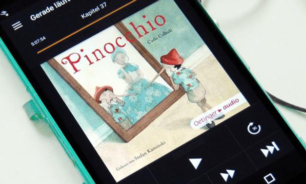 """Carlo Collodi: """"Pinocchio"""" (Hörbuch gelesen von Stefan Kaminski)"""