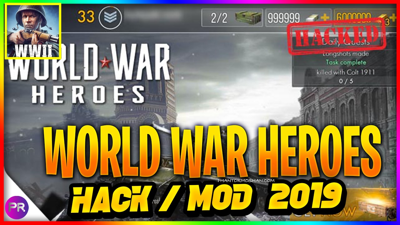 world war heroes mod apk 2019