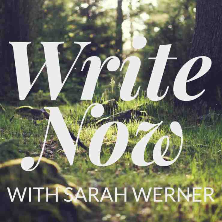 "The Write Now Podcast Presents: ""Self-Writing and Self-Talk"