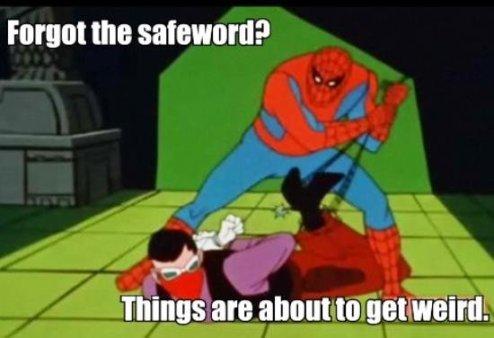 Spidey-safeword