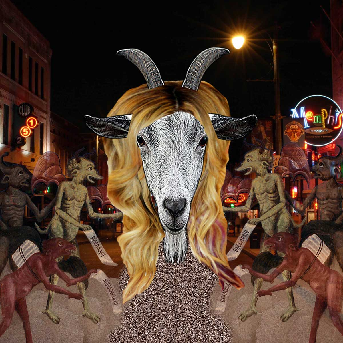 And then it got weird: Satanic Goats and Demonic Hair Weaves