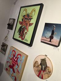 Legend of Krampus Art Show