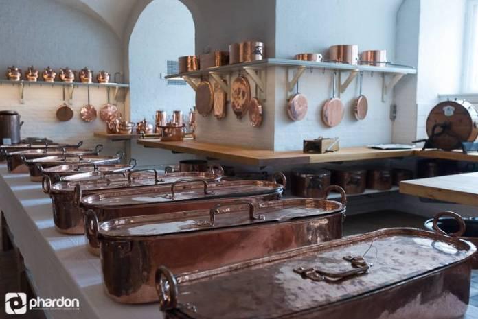 Zamanında sarayda kullanılan mutfak malzemeleri