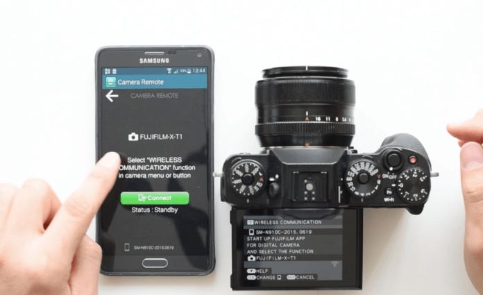 Fujifilm XT1 ile telefondan çekim