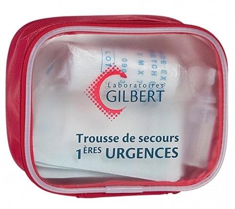 trousse de secours gilbert - pharmacie-charlet