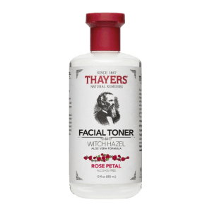 Thayer's witch hazel rose toner review