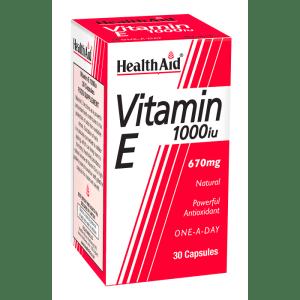 HealthAid Vitamin E 1000iu