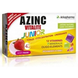 Arkopharma Azinc Vitality Junior 30 tablets