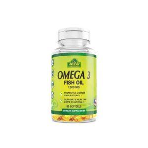 Alfa Vitamin Omega-3 Fish-Oil