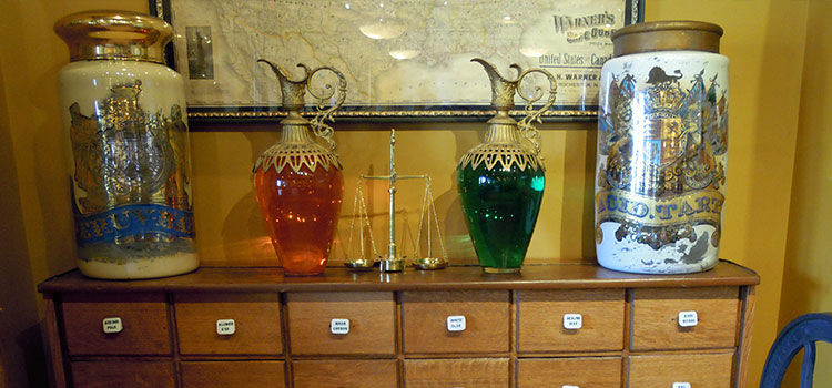 Apothecary Showglobes from the 1800s