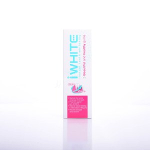 iWHITE instant Teeth Whitening Healthy Gums Toothpaste