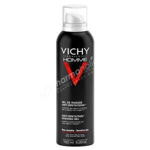 Vichy Homme Anti-Irritation Shaving Gel -150ml-