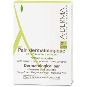 Aderma Dermatological Cleanses Soothing Bar 100g