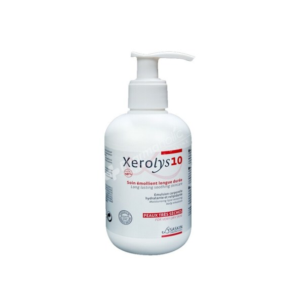 Lysaskin Xerolys 10 Long lasting Soothing Skincare