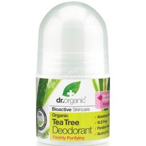 Dr.Organic Organic Tea Tree Pure Deodorant