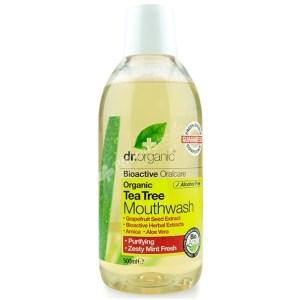 Dr.Organic Organic Tea Tree Mouthwash