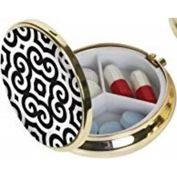 Portable Fashionable Pill Container