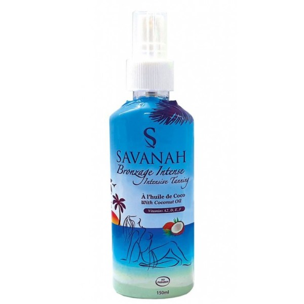 Savanah Bronzage Intense Coconut Oil