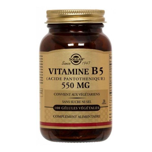 Solgar Vitamin B5 Pantothenic Acid