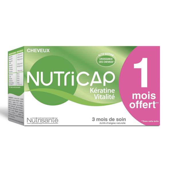 Nutricap Keratin and Vitality 90