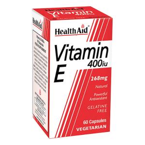 HealthAid Vitamin E 400iu 30 Capsules