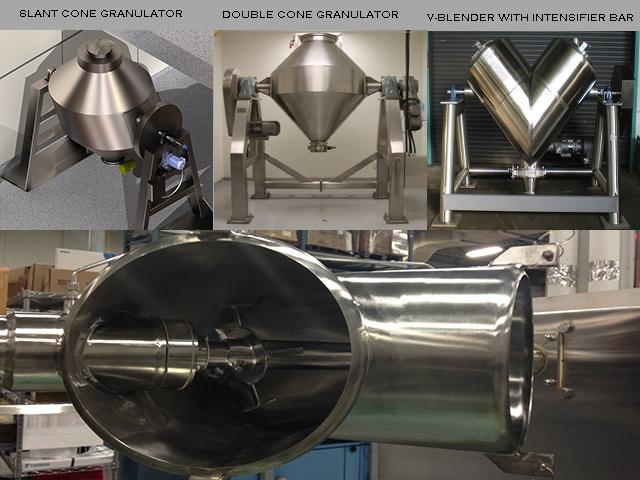 pictures of rotating shape granulators